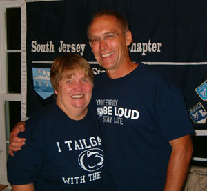 Host Family_Donna and Gary Thomas_South Jersey Shore - Penn State Freshmen Send Off - August 2007