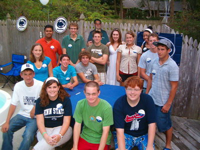 South Jersey Shore - Penn State Freshmen Send Off - August 2007